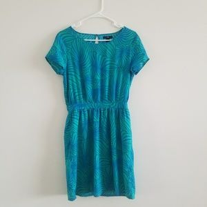 Gap Fern Leaf Pocket Dress Sz S